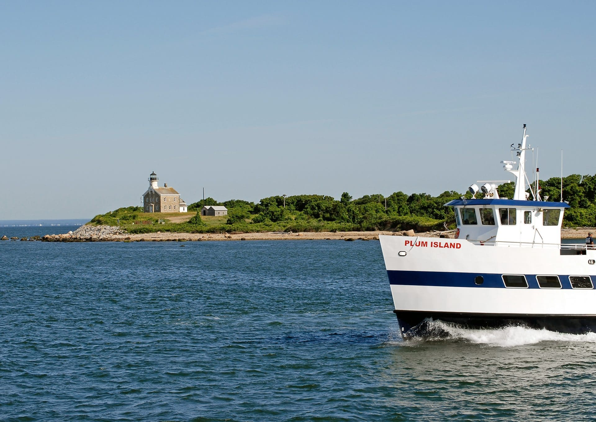 "Ferries bring researchers and staff to and from Plum Island several times each day. Photo by <a href=""https://www.ars.usda.gov/oc/images/photos/oct13/d2996-1/"">USDA</a> / Kathleen Apicelli"