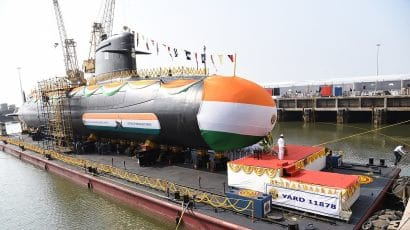 India's INS Vela submarine