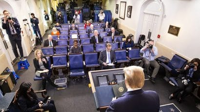 White House press briefing on coronavirus