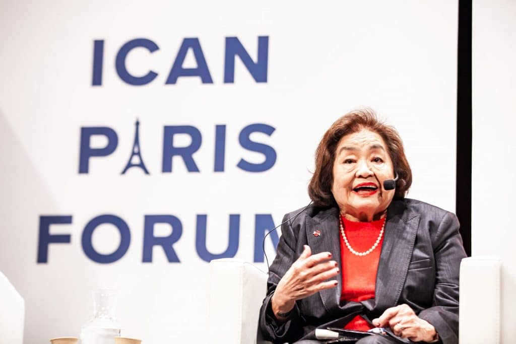 Setsuko Thurlow at ICAN