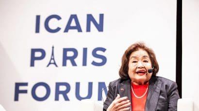 Setsuko Thurlow at ICAN