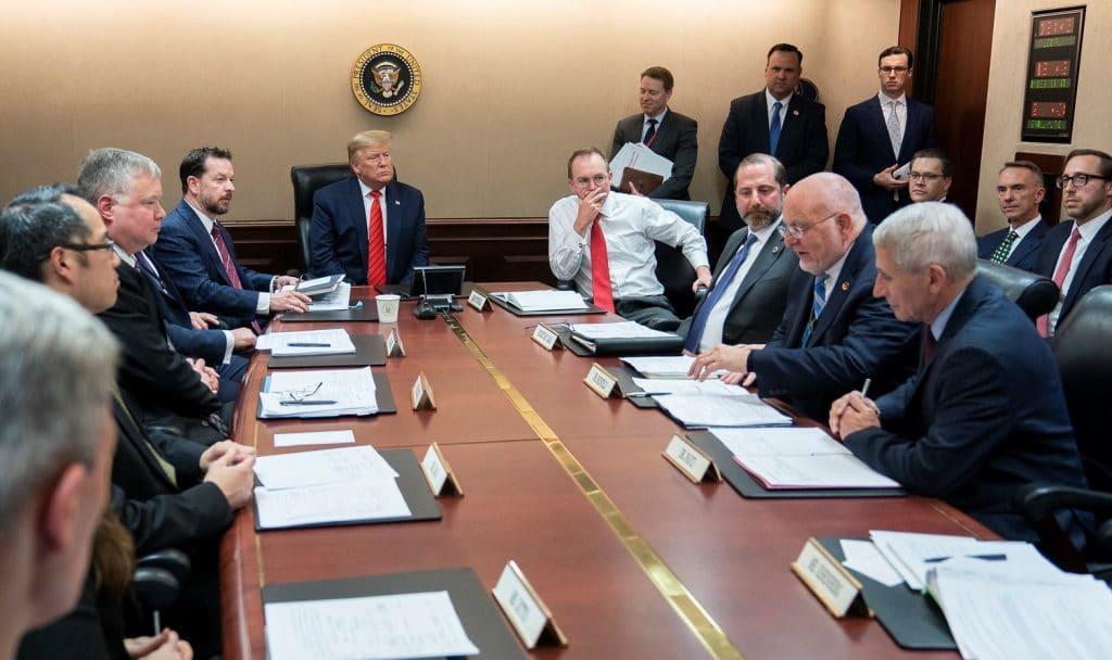 White House Situation Room Coronavirus briefing