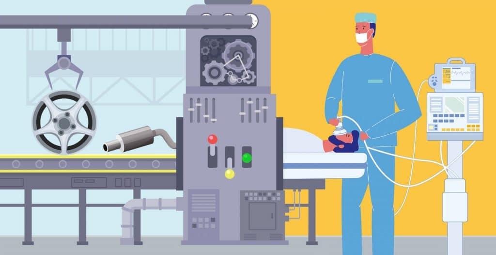 Коронавирус и искусственная вентиляция легких (ИВЛ)
