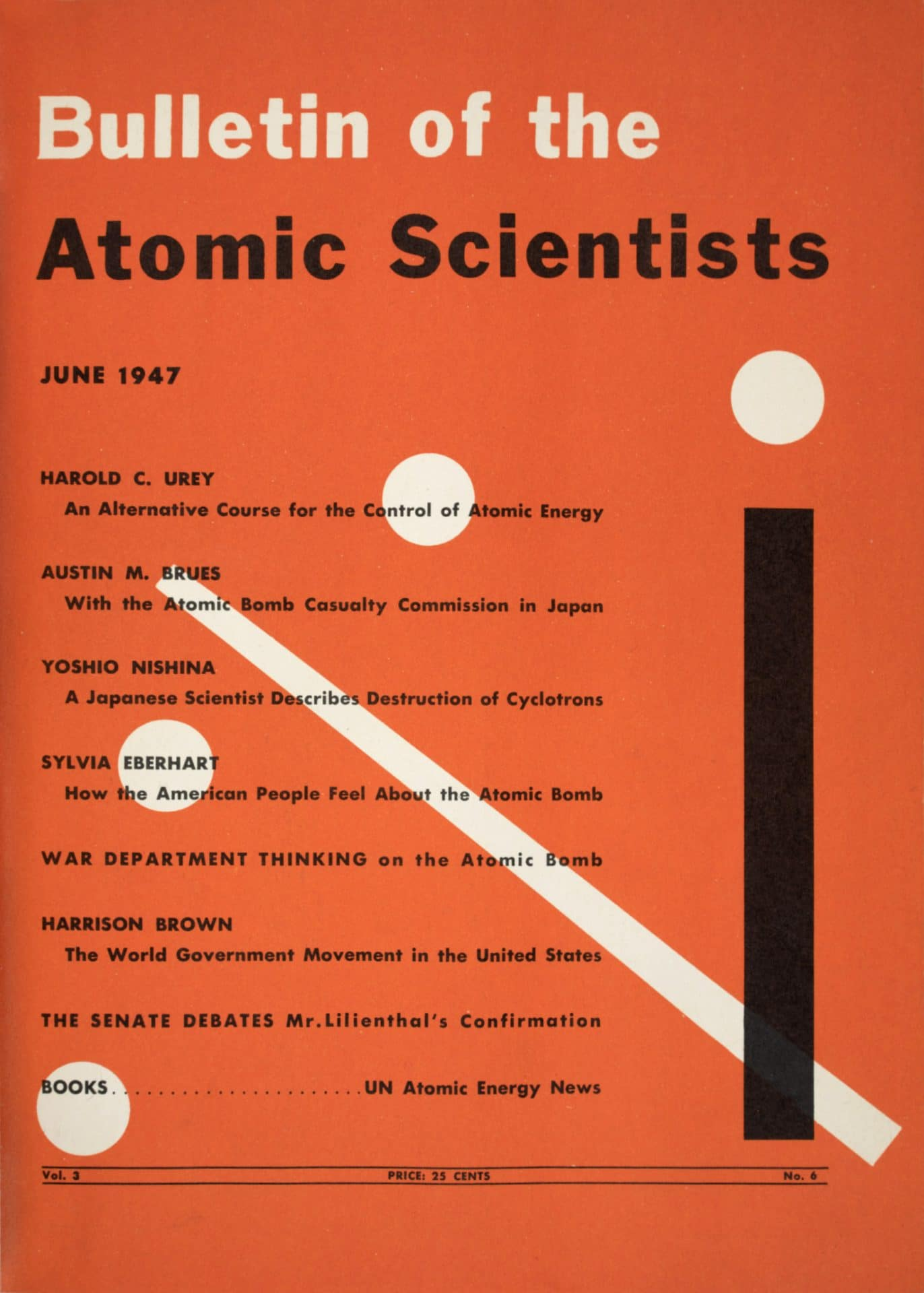 The Bulletin becomes a full-fledged magazine in 1947
