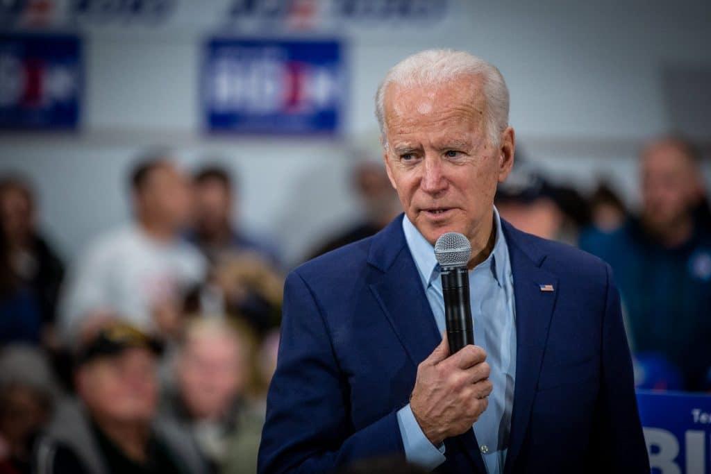Joe Biden, 2020.