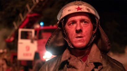 A firefighter on the first-response team in the five-part Chernobyl miniseries co-produced by HBO and Sky.