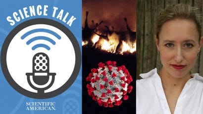 scientific American science talks podcast biolabs biosecurity coronavirus pandemic disease elisabeth eaves