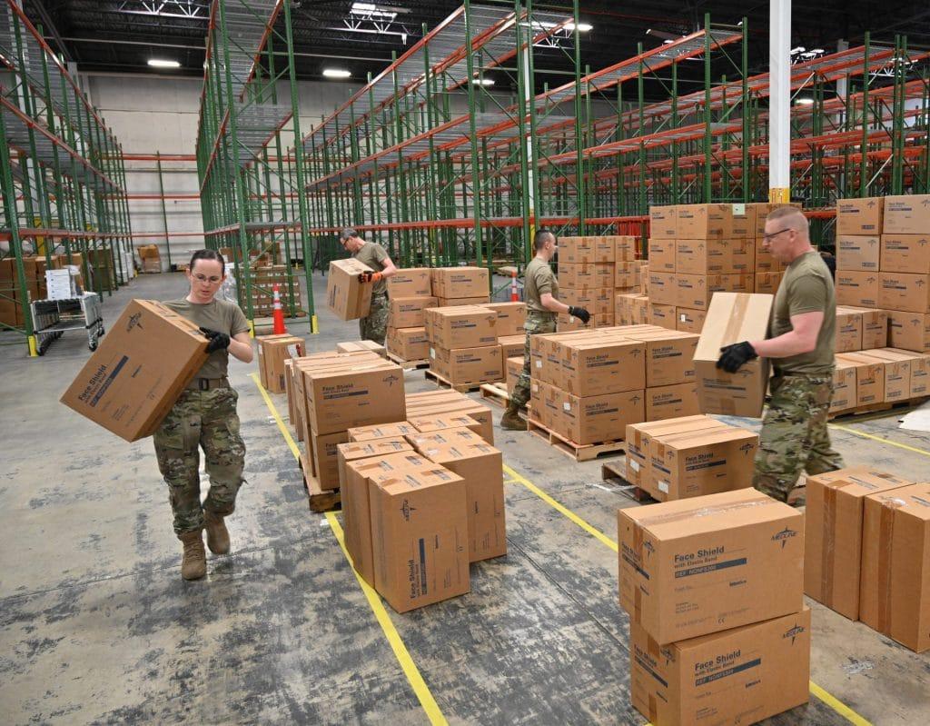 Maryland national guard stockpile