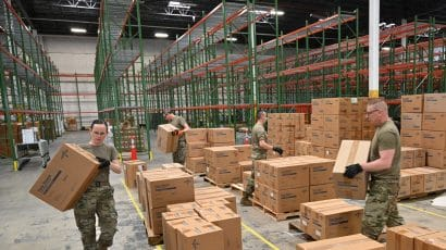 Maryland national guard stockpile