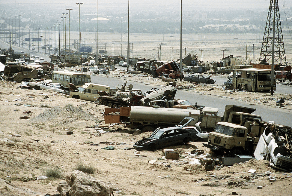 iraq road of death
