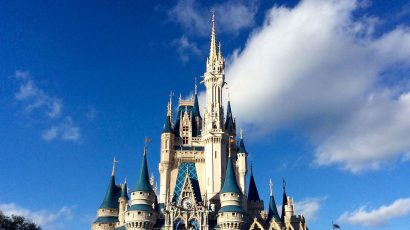 Cinderella Castle at Walt Disney World. (Photo by Jedi94 via Wikimedia.)