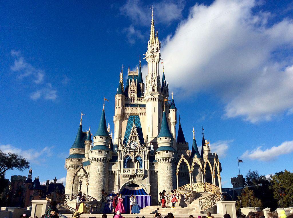 Cinderella Castle at Walt Disney World. (Photo by Jedi94 via Wikimedia.)