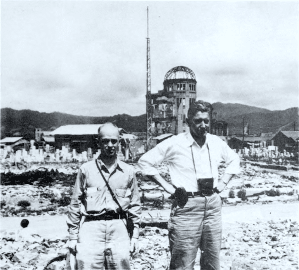 atomic bomb casualty commission hiroshima 1947