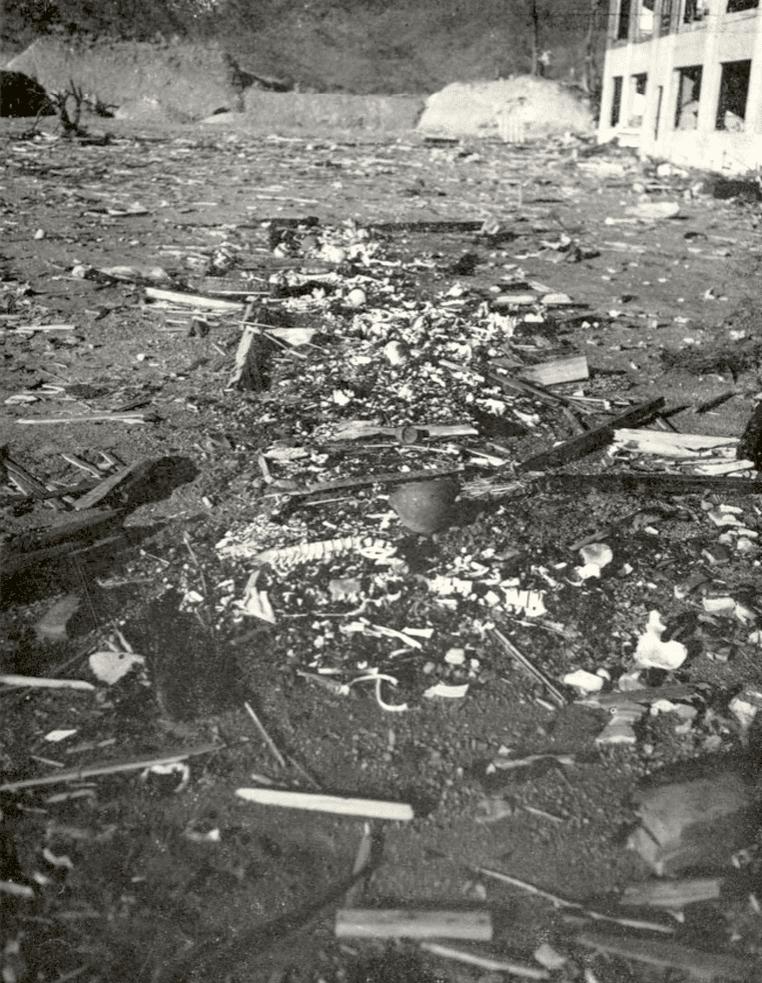 nagasaki cremains atomic bomb 1945