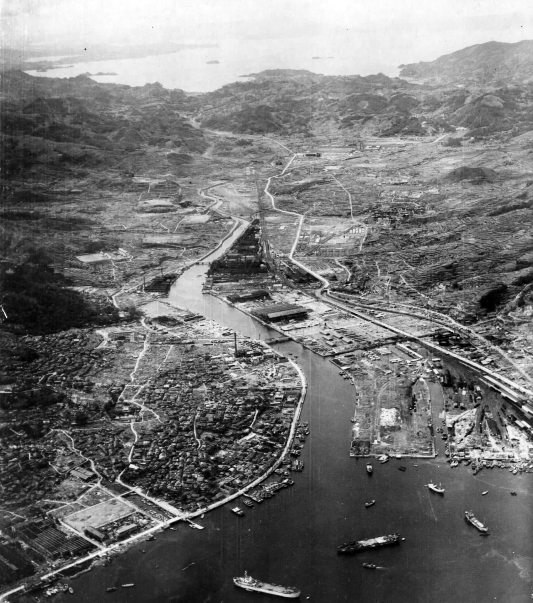 urakami valley nagasaki after atomic bomb 1945