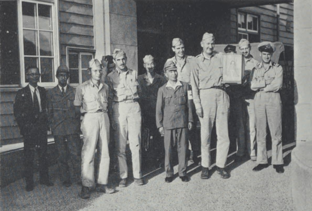 nagasaki survey team stafford warren atomic bomb 1945