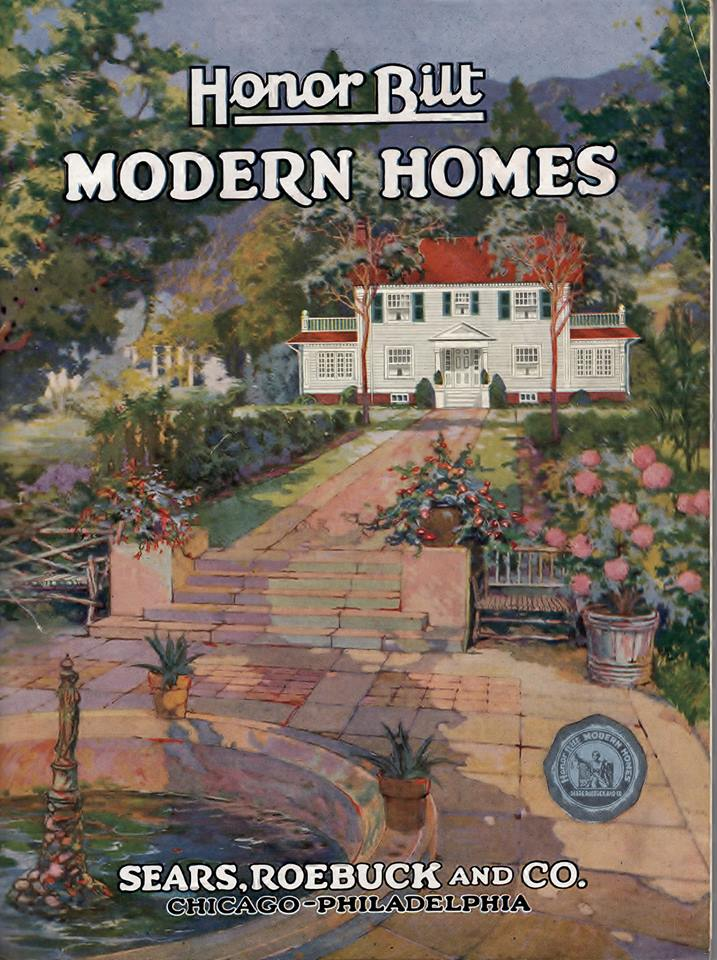 cover of 1922 Sears kit home catalog