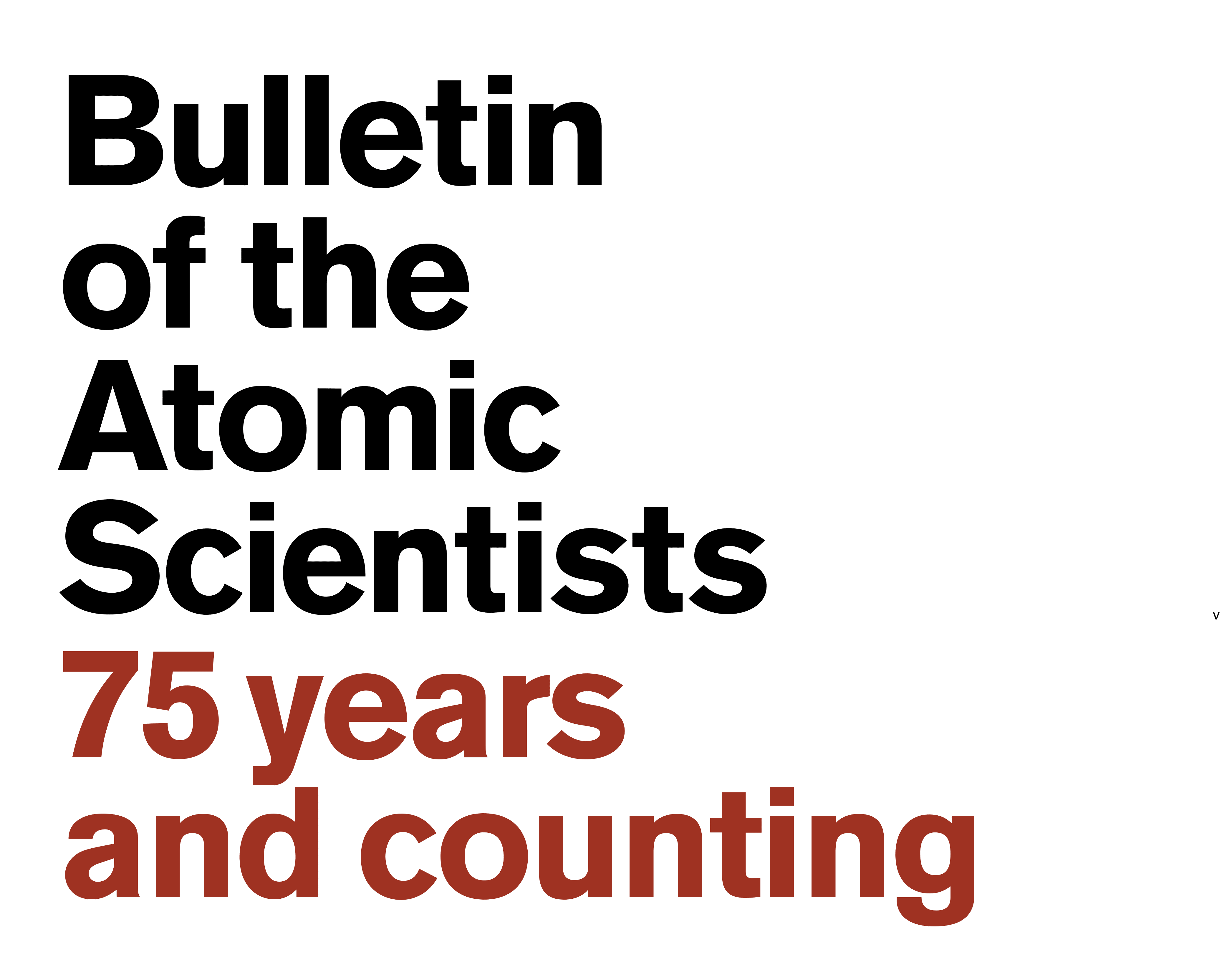It's the Bulletin's 75th anniversary!