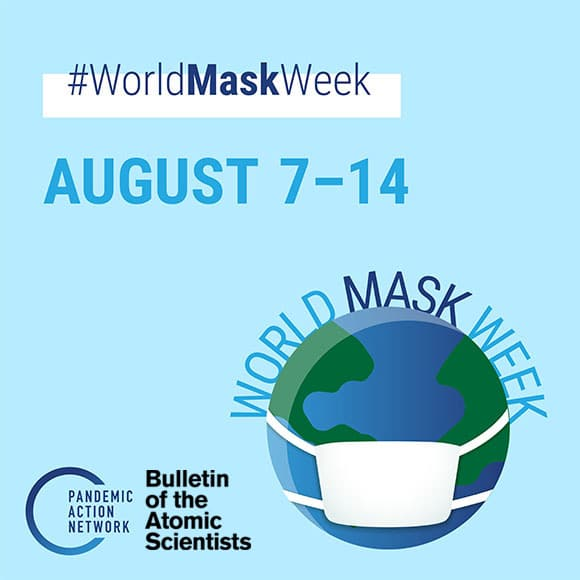 Join the Bulletin for World Mask Week