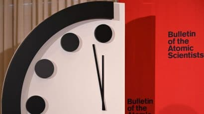 picture of the Doomsday Clock