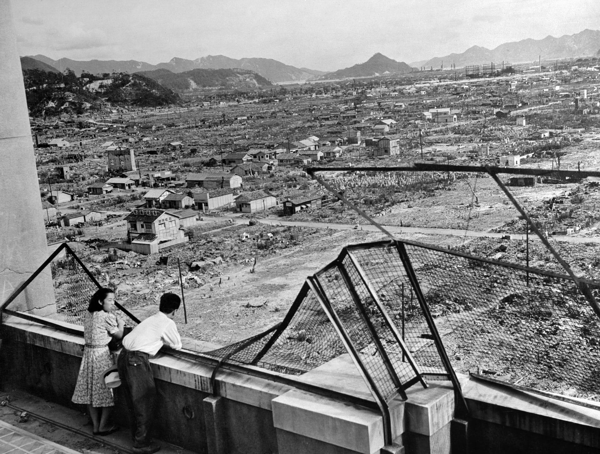 hiroshima atomic bombing anniversary 1946
