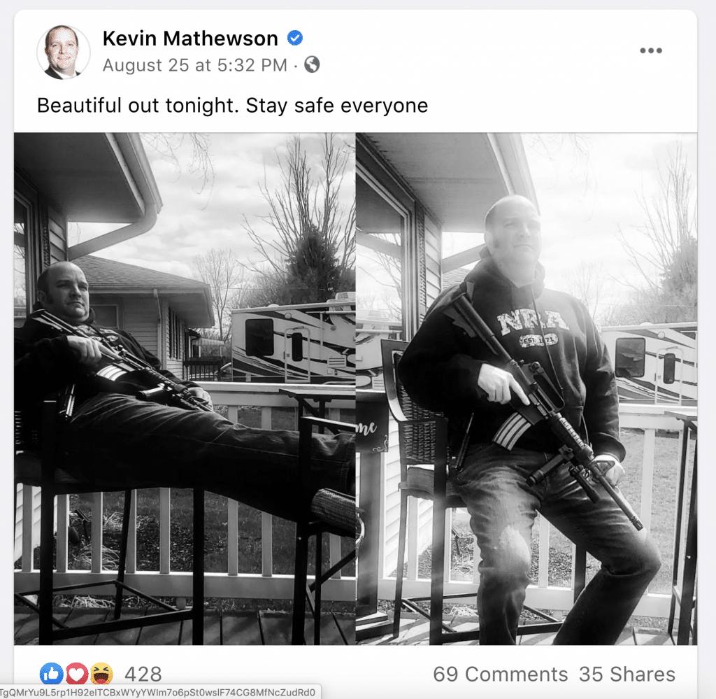 A post by Kevin Mathewson.