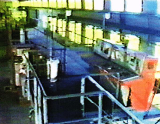 Fuel rod fabrication plant at Yongbyon