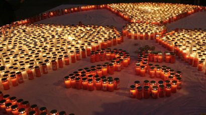 Commemoration in Vienna 25 years after the nuclear disaster in Chernobyl. Photo credit: Manfred Werner.