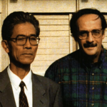 Robert Alvarez with Li Gun in North Korea.