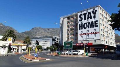 A billboard in South Africa.