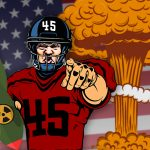 trump nuclear football
