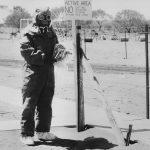 photographer at British nuke test site in Australia