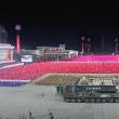 North Korea's military parade on October 10, 2020