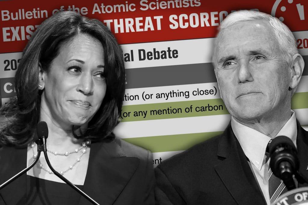 Kamala Harris mike pence vice-presidential debate 2020 susan page