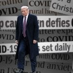 Donald Trump covid-19 coronavirus covid pandemic headlines media