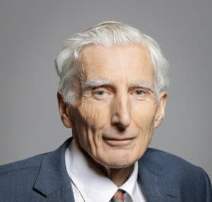 Martin Rees, Royal Astronomer and co-founder of Cambridge University's Center for the Study of Existential Risk.