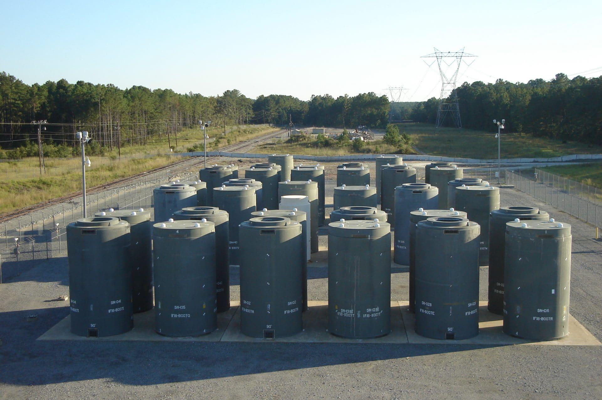 HI-STORM storage casks