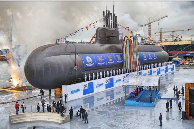 South Korean submarine