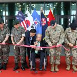 US Eighth Army celebrates its relocation from Yongsan to Pyeongtaek, South Korea