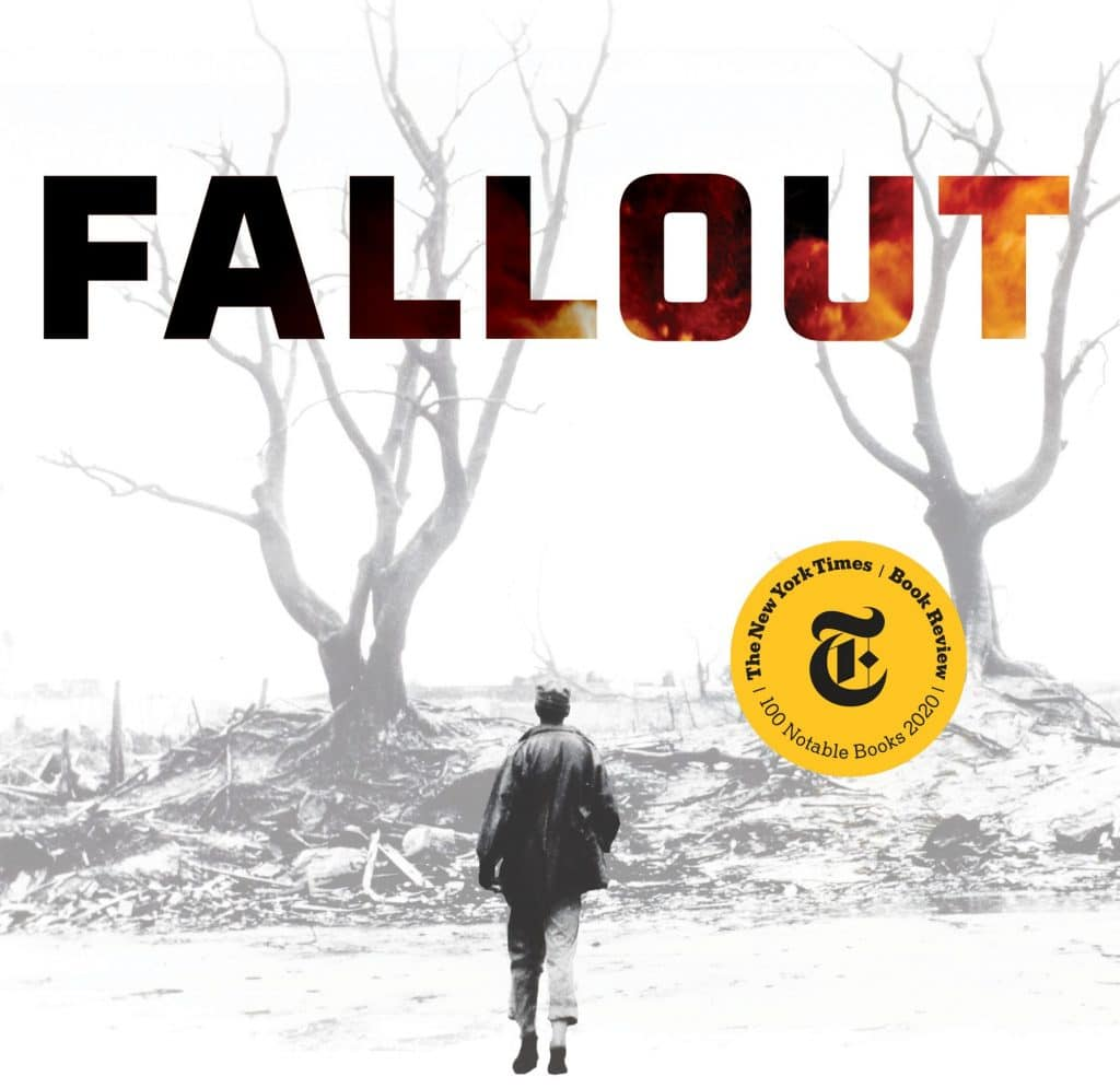 """the cover of """"Fallout,"""" by Lesley M. M. Blume"""