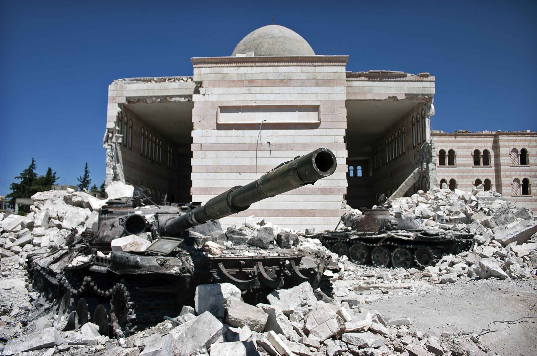 Syrian civil war.