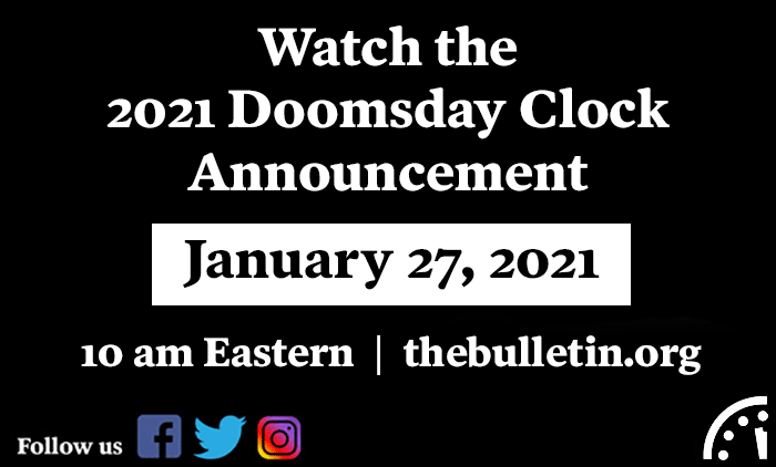 Doomsday Clock 2021 Teaser