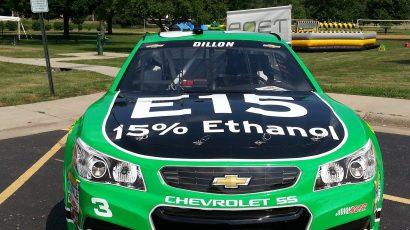 sports car powered by ethanol