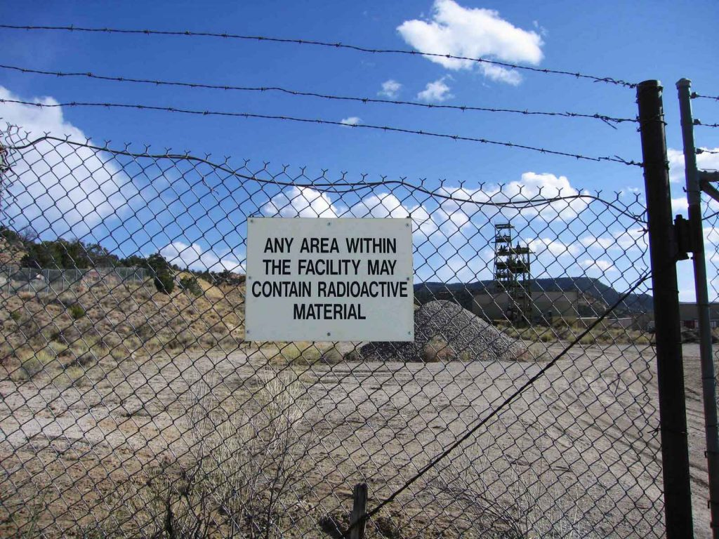 A uranium mine in New Mexico. Credit: Eve Andree Laramee via Wikimedia Commons. CC BY-SA 4.0.