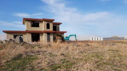 abandoned house in Fukushima