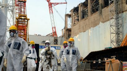 IAEA Experts at the Fukushima Nuclear Power Plant. Credit: IAEA Imagebank via Wikimedia Commons. CC BY-SA 2.0.