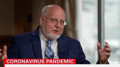 CDC director Robert Redfield CNN coronavirus interview Sanjay Gupta