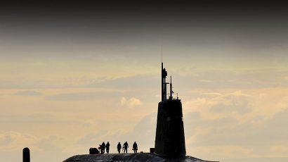 Nuclear submarine HMS Vanguard. Photo: CPOA(Phot) Tam McDonald/MOD accessed via Wikimedia Commons. Open Government License.