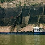 coal barge China