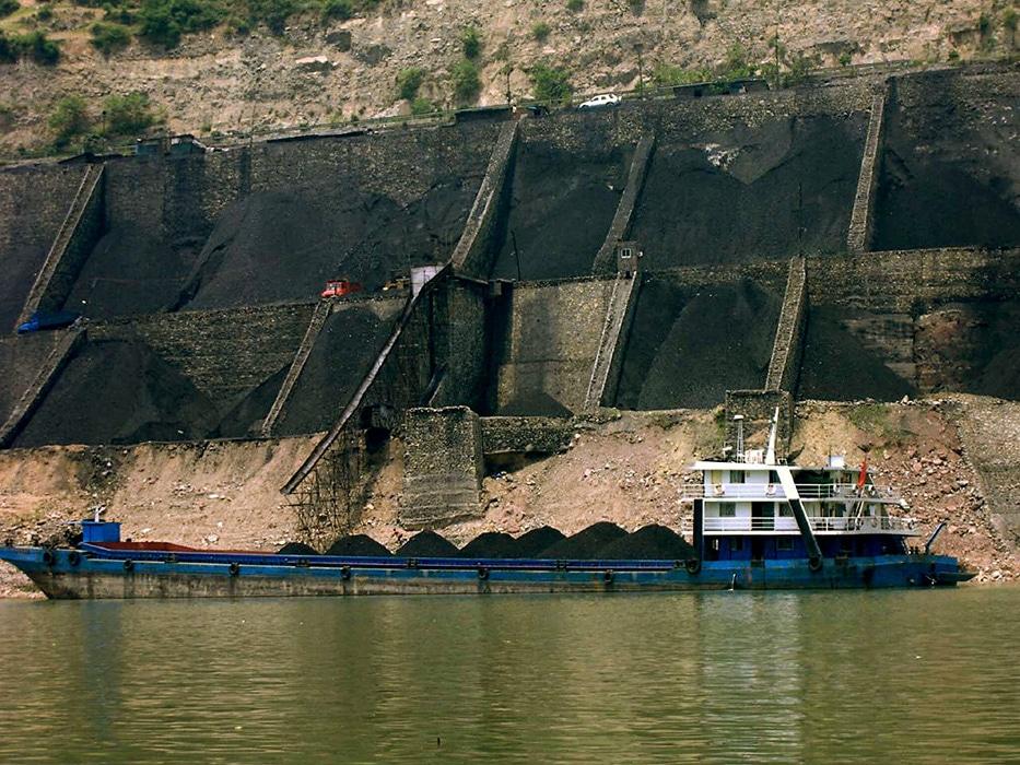 coal barge China